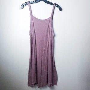 RVCA Square Neck Sleeveless Tank Dress